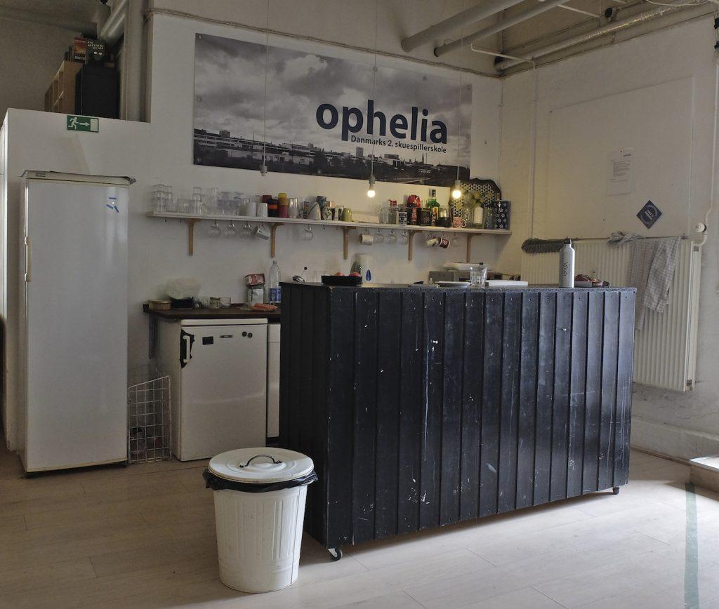 Skuespillerskolen Ophelia studio lokaler i København