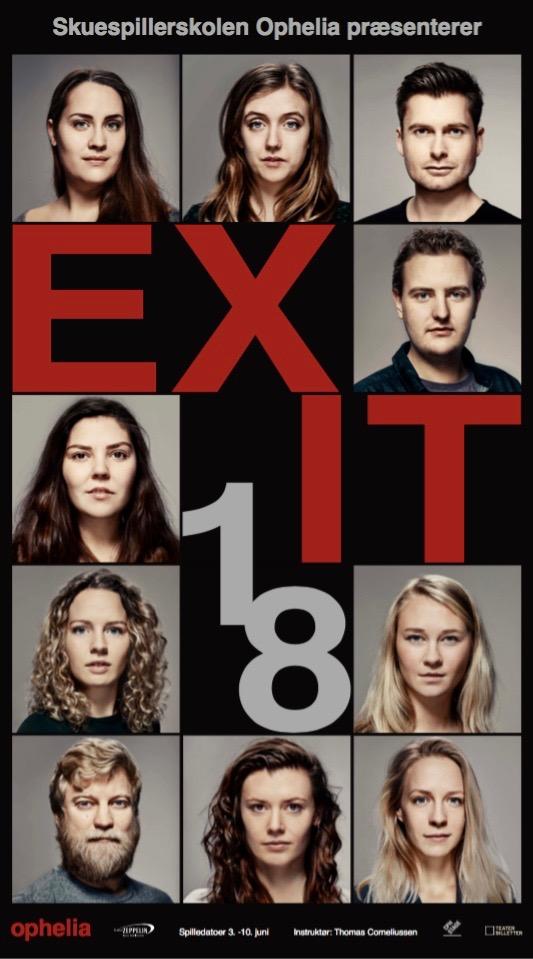 EXIT18 - Skuespillerskolen Ophelia elev forestilling