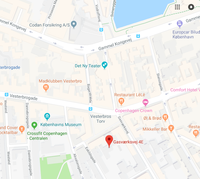Skuespillerskolen Ophelia find vej skuespillerskole i København adresse