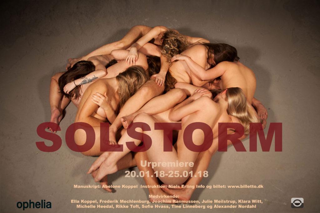 Skuespillerskolen Ophelia teater forestilling Solstorm