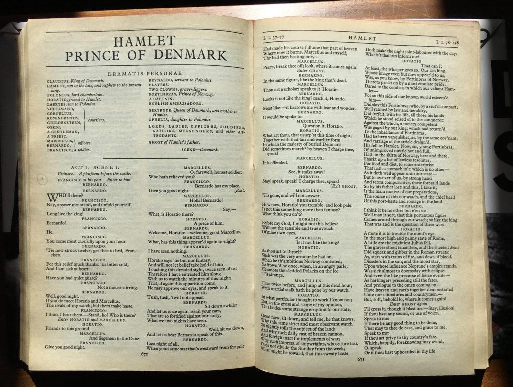 Skuespillerskolen Ophelia Hamlet
