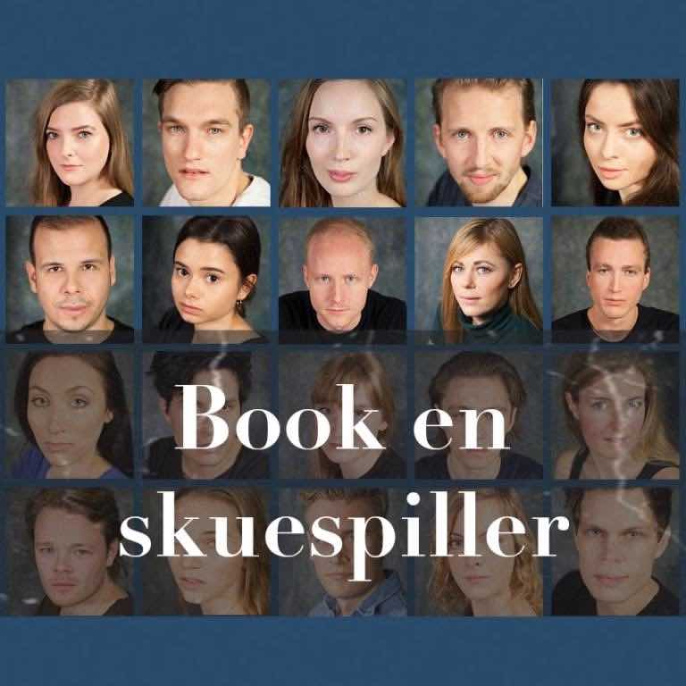 Book en skuespiller i Danmark