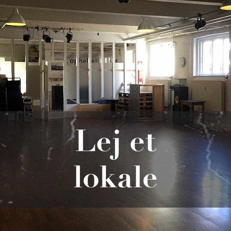 Lej et lokale teater scene København