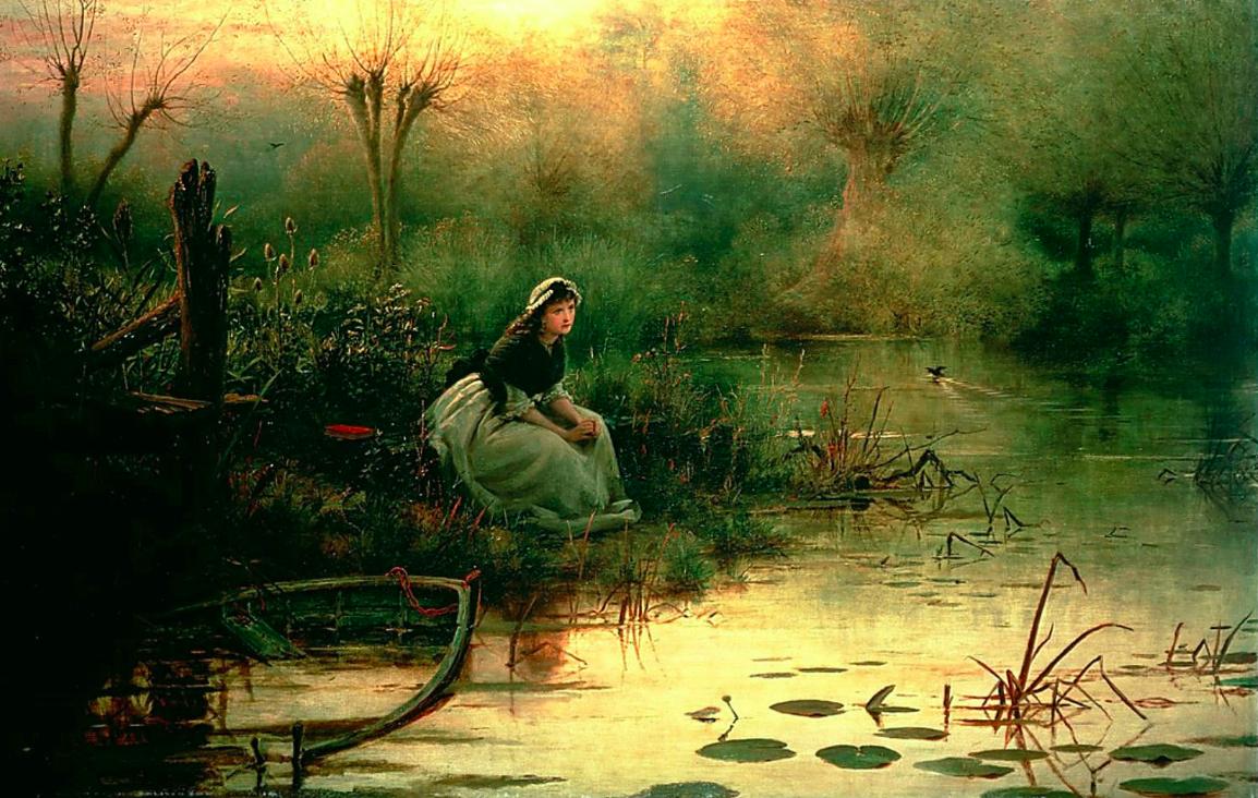 Skuespillerskolen Ophelia maleri